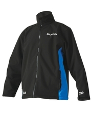 Daiwa Softshell Jacket Black/Blue