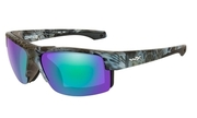 "Wiley X WX COMPASS Polarized Emerald Mirror Amber Lens Kryptek ""Neptune"" Frame"
